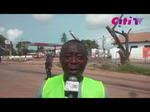 WATCH: The moments right before the Takoradi gas explosion