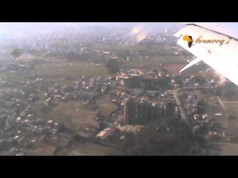 LANDING IN NEPAL - Landing in Kathmandu Airport, Nepal.