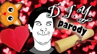 DIY(пародия) Как парни делают подарки своими руками / Как признаться в любви /День Святого Валентина
