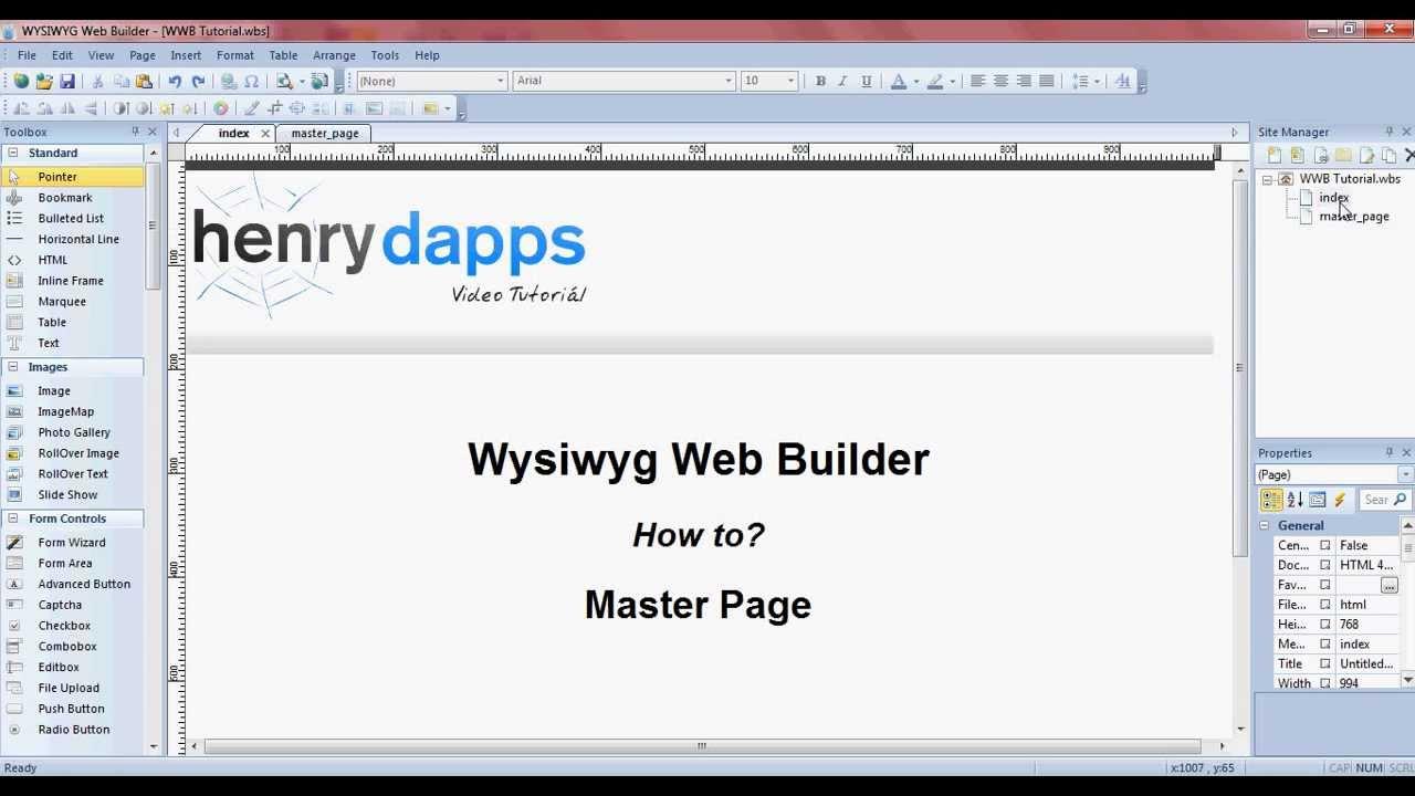 Master frame wysiwyg web builder youtube master frame wysiwyg web builder falaconquin