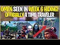watch he video of *NEW* Fortnite: OMEN IS A TIME TRAVELER! *With Proof* | (Season 4 Storyline Solved)