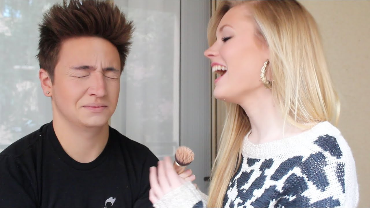 My Girlfriend Does My Makeup Jenna Marbles Youtube