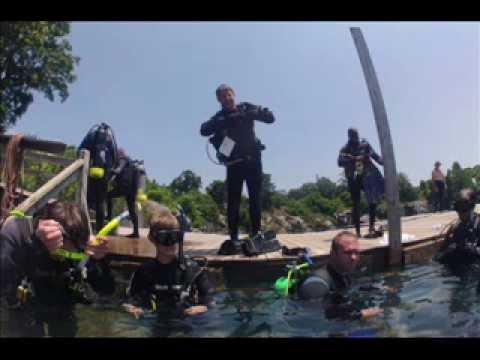 PADI Open Water Scuba Certification Atlanta - YouTube