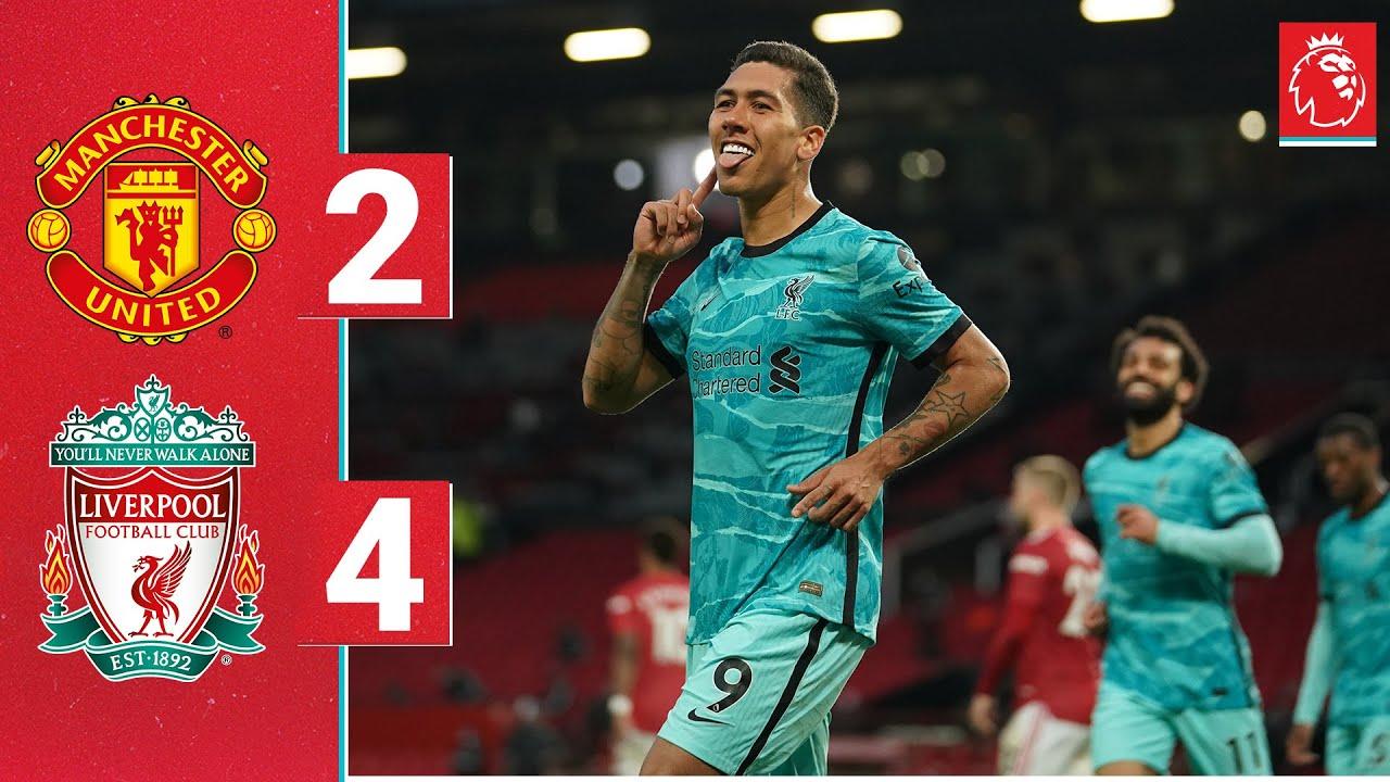 Download Highlights: Man Utd 2-4 Liverpool