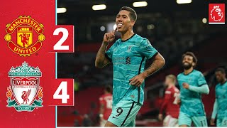 Highlights: Man Utd 2-4 Liverpool