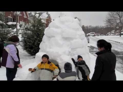 Igloo in Duluth Georgia!