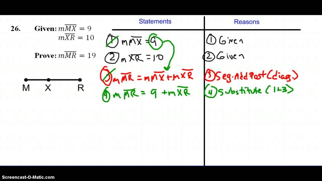 Proof: Segment Addition Postulate - YouTube