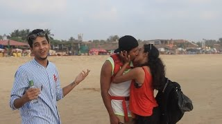 HOT Couples Games in GOA! - KISSING, DANCE, ROMANCE - Super Desi People
