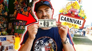 $$ 100 Dollars Carnival Game Win!!! ArcadeJackpotPro