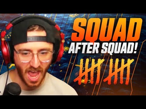 TAKING OUT SQUAD AFTER SQUAD.. (12 Kills) - COD:Blackout Gameplay
