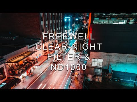 Clear-Night Filter By FREEWELL. DJI Osmo Pocket Filter Kit