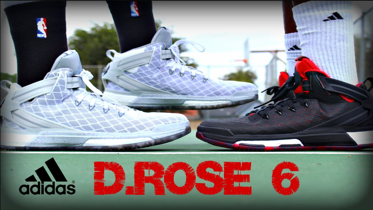 57ac7a7c7fa Adidas D.Rose 6 Performance Test - YouTube