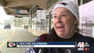 Chiefs fans from across the country flock to KC ahead of AFC Championship Game