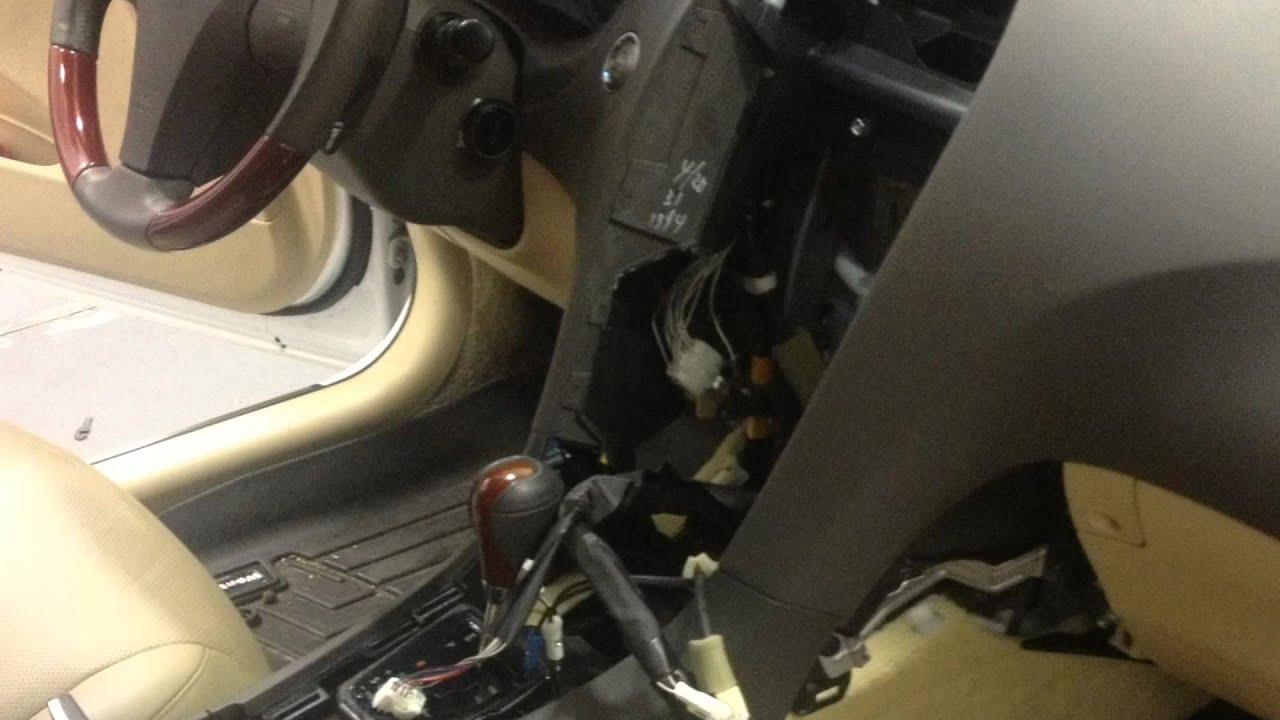 Lexus Es 350 2007 Aftermarket Double Din Radio Installed