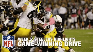 Steelers' Game-Winning Drive | Steelers vs. Chargers | NFL
