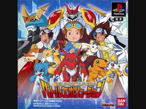 Digimon Tamers Battle Evolution Soundtrack 03: Target