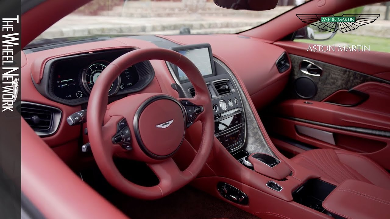 2018 Aston Martin Db11 V8 Interior Youtube