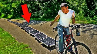 Making an Infinitely Powered Solar E-Bike