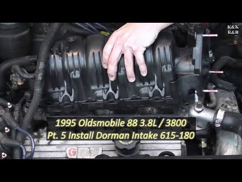 1995 Oldsmobile 88 3.8L / 3800 Pt5 Install New Dorman Upper Intake Manifold Replacement 615-180