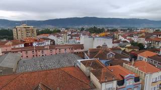 Largo General Silveira em Chaves (drone video)