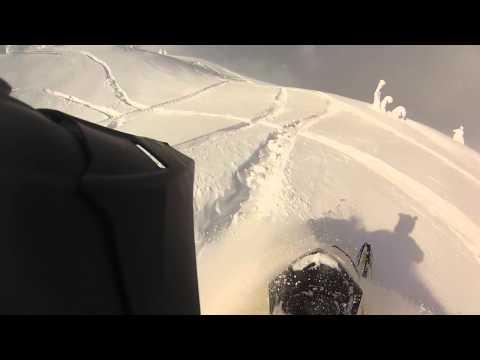 Revelstoke - Boulder Avalanche Dec 21 2014 - Ski Doo Snowmobile