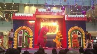 Barney & Friends in Singapore! (The Little Big Club Live Show @ OneKM Mall Pt. 3)