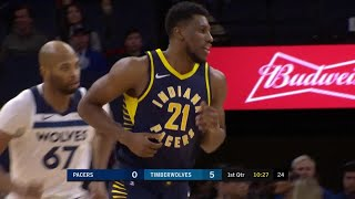 1st Quarter, One Box Video: Minnesota Timberwolves vs. Indiana Pacers
