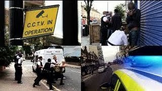 Stop and search: police battle for control of London