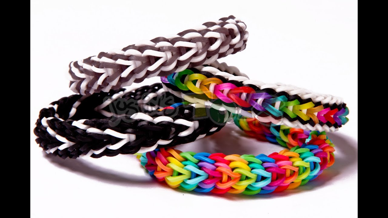 Vesper Rainbow Loom Bracelet Tutorial Advanced Design