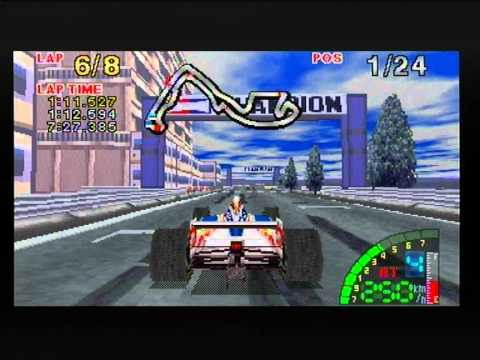F1 Challenge Sega Saturn Game play (PAL) PT3