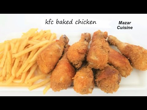 SHAKE N BAKE OVEN FRIED CHICKEN RECIPE.KFC FRIED CHICKEN BY MAZAR CUISINE
