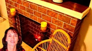 Diy Faux Fireplace ➤easy Carpentry