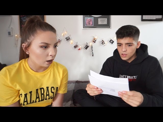 OPENING A SUBSCRIBERS GCSE RESULTS 2018