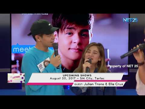 JULIAN TRONO AND ELLA CRUZ NET25 LETTERS AND MUSIC Guesting - EAGLE ROCK AND RHYTHM