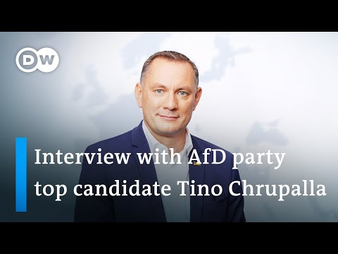 Download Interview with Tino Chrupalla, Lead Candidate of the AfD | DW News