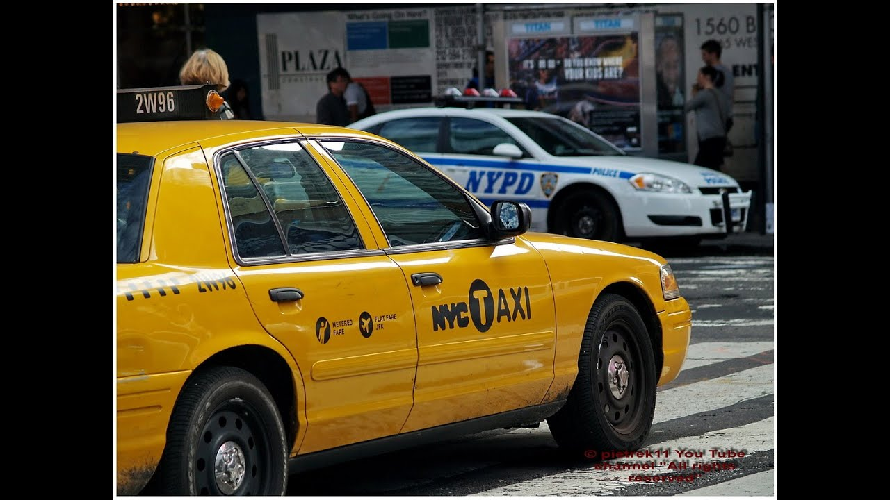 Undercover Police Car Yellow Taxi New York 2015 Hd C Youtube