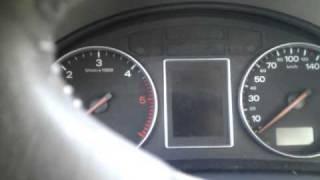 2002 Audi A4 1.9 TDI cold start / Холодный запуск двигателя Audi A4 1.9 TDI(, 2011-02-20T10:48:00.000Z)