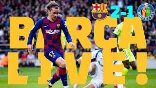 ⚽Barça 2 - 1 Getafe | BARÇA LIVE: Warm Up & Match Center #BarçaGetafe