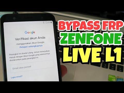 BYPASS FRP ASUS ZENFONE LIVE BYPASS GOOGLE ACCOUNT TANPA PC WORK 100%