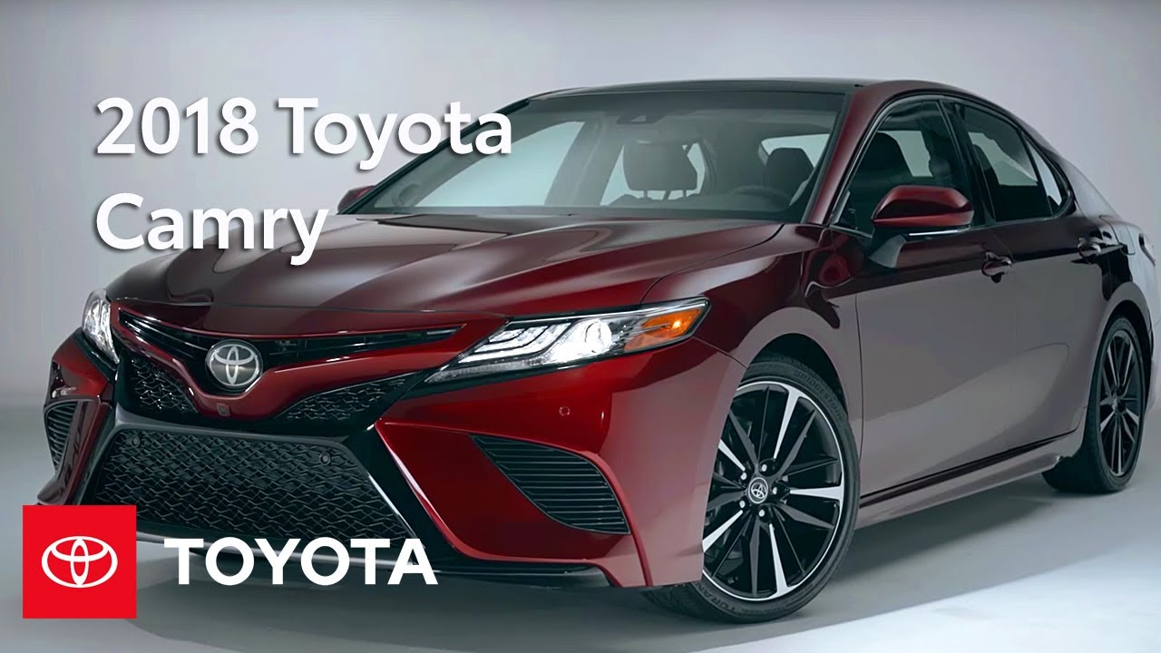 2018 Toyota Camry Walkaround Features