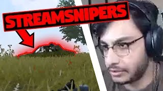 Killing STREAM SNIPERS Solo vs Squad | PUBG Mobile Highlights | RAWKNEE