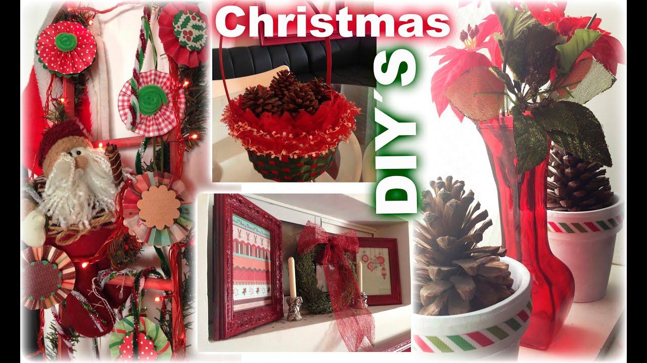 diy 4 ideas f ciles y econ micas para decorar de navidad On ideas para decorar en navidad economicas