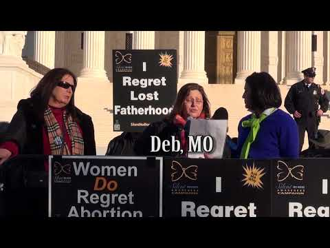 Deb's 2018 March for Life Testimony