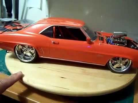 Scale Model Car 69 Chevy Camaro Ss Pt6 Final Build Youtube
