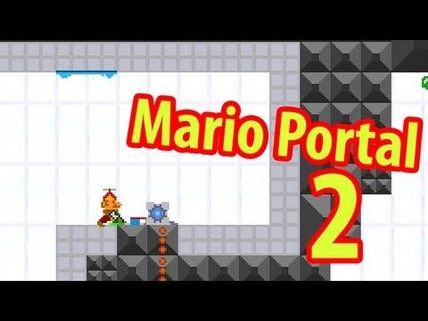Mario Portal 2 - Портальные уровни