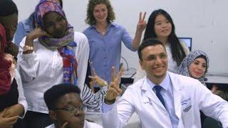 Refugee educates future generation of doctors