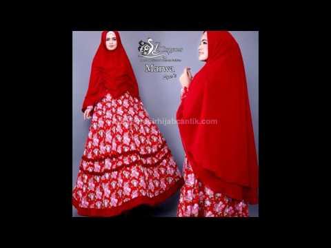 Jual Baju Muslim Online | Baju Gamis Syar'i | Baju Gamis model Baru | Marwa Syari By Lil Gorgeous