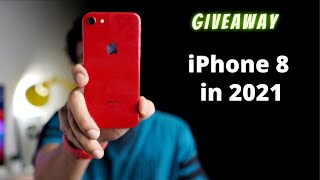 Should you buy iPhone 8 in 2021 Review & Giveaway