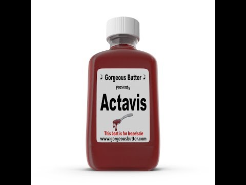 Actavis | New Trap Instrumental Beat 2017 (Free) Swae Lee x Future Purple Codeine Lean Type Beat