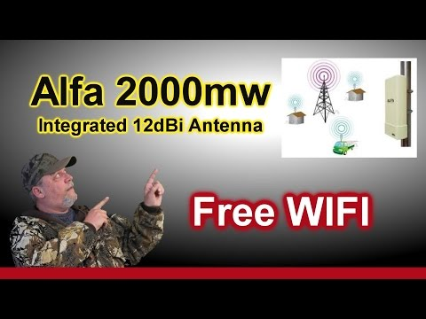 Alfa Networks UBDo Long-Range Antenna - USB wireless long range network Wifi Adapter